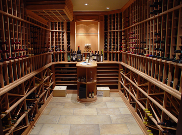 traditional wine cellars customized or modular. Black Bedroom Furniture Sets. Home Design Ideas